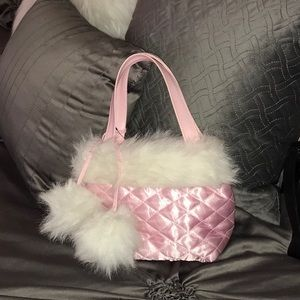 Girls/ladies small pink bag